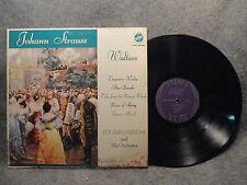 33 RPM LP Record Johann Strauss Waltzes Eduard Strauss & Orchestra STVX 426.030