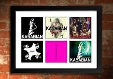 Kasabian Vinyl albums Édition Limitée Art Imprimé