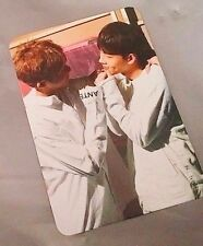 MONSTA X Open Broadcast Fighter OFFICIAL PHOTO CARD Photocard Hyungwon & Jooheon