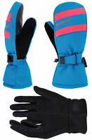 Women's Winter 3M Thinsulate Snow Ski Mittens with Touchscreen Gloves