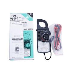 New Kyoritsu 2608a Ac Analogue Clamp Meter Tester Frequency Response 50hz60hz