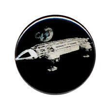 Badge COSMOS 1999 Aigle Lune ovni ufo extra terrestres retro série culte Ø25mm