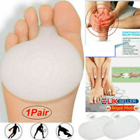 2 X Gel Metatarsal Support Cushion of Forefoot Ball Sore Foot Pain Insoles Pads