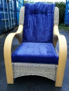 CONSERVATORY /PATIO  Wicker Armchair OAKEA EXCELLENT CONDITION