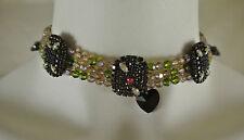 Modeschmuck-Halsketten & -Anhänger im Kragen-Stil aus Strass