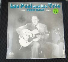 Les Paul And His Trio ‎– Feed Back 1944-1945 (Circle ‎– CLP-67)