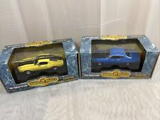 Lot Of 2 ERTL American Muscle 70 FORD TORINO COBRA & 67 SHELBY GT-350  S 1:43