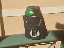 Black Watch Tartan Plaid  Beer Bottle Koozie Kilt  Sporran Fun Christmas Gift
