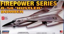 Lindberg Convair  B-58 Hustler bomber model kit 1/64