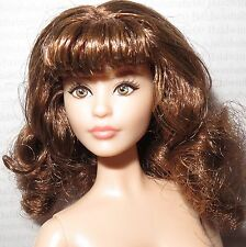 (C) NUDE BARBIE (C~ BRUNETTE SWEET TEA KARL ARTICULATED MODEL MUSE DOLL FOR OOAK