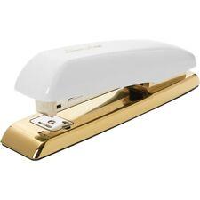 Swingline Durable Desktop Staplers - 20 Sheets Capacity - White, Gold