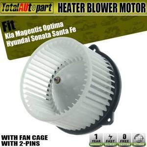 A//C Heater Blower Motor For 2001-2006 Hyundai Santa Fe Kia Magentis Replacement