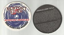 'Lot Of 5 Hurricane Amber Ale coasters- Coastal Extreme of Newport, RI #003