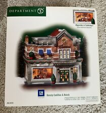 Dept 56 Christmas in City Series Hensly Cadillac & Buick #59235