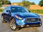 2012 Infiniti FX35 Limited Edition 2012 Infiniti FX35 SUV Blue AWD Automatic Limited Edition NO RESERVE!!!