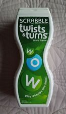 Scrabble Twists and Turns Word Game By Mattel - Great Condition Twists & Turns
