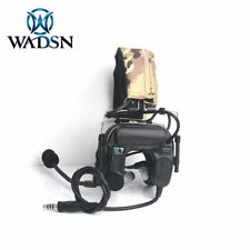 WADSN COMTAC IV IN-THE-EAR Headset w/ Noise Cancellation - BLACK