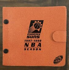 1997/98 Phoenix Suns NBA Basketball 30th Anniversary Season Ticket Album