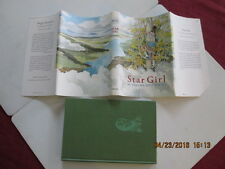 STAR GIRL hcdj Thelma Hatch Wyss SIGNED 1967 0912 $3.95 dustcover price