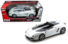 MOTOR MAX 1:18 LAMBORGHINI CONCEPT S Diecast Car Model White Brand New In Box