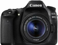 Open Box Canon EOS 80D DSLR Camera with 18-55mm Lens