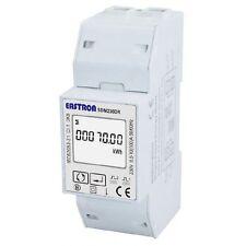 Contador de Energía Digital Carril DIN 100A