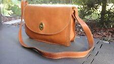 VTG FOSSIL Austin Convertible Clutch/Shoulder Bag ZB 5586 Brown Leather Handbag