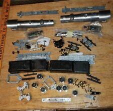 B5 Mantua HO Scale Steam Cast Locomotive Parts w tender x2 Model Kit