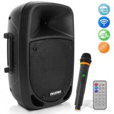 Pyle PSBT85A 800 Watt Bluetooth PA Speaker, Rechargeable, w/ Wireless Mic