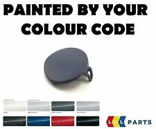 BMW LCI E90 E91 08-11 FRONT BUMPER TOW HOOK EYE COVER PAINTED BY YOUR COLOR CODE