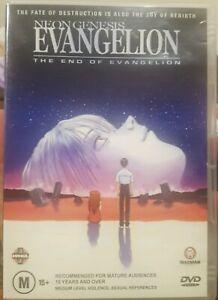 NEON GENESIS THE END OF EVANGELION DVD ANIMATION CARTOON CULT MANGA MOVIE ANIME