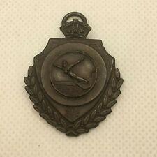 Vintage Bronze Diving medal 1930's