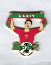 Hardrock Cafe Pin Foot Ball Boy Hrc Hard Rock Cafe Lisboa, Lisbon Cr 7
