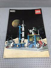 Lego System Space Building Instruction 920 No Bricks