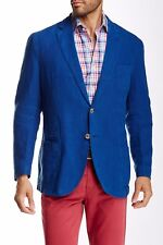 Peter Millar  Soft Linen coat sports jacket size XL BLue NWT $595