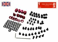 Jonsbo Metal Mod Screw Replacement Set Fan Mounting Screw Kit for PC DIY - RED