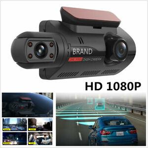 HD 1080P Dual Lens Car DVR Vehicle Video G-Sensor  Dash Cam Recorder Camera 32GB