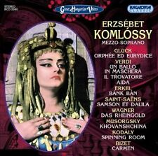 Great Hungarian Voices - Erzsebet Komlossy, New Music