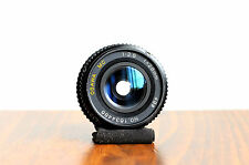 OSAWA MC (for Pentax PK Bayonet)    28mm f/2.8 Wide Angle Lens,    Made in Japan