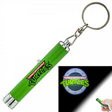 Teenage Mutant Ninja Turtles Tmnt Logo Sewer Lid Projection Flashlight Keychain
