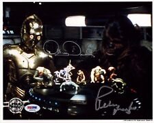 ANTHONY DANIELS & PETER MAYHEW Signed STAR WARS 8x10 OPX Photo PSA/DNA #AD53734