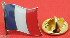 France French Country Flag Lapel Hat Cap Tie Pin Badge Brooch