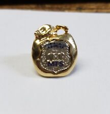New York City Gold Apple - Police Officer Midtown South (MTS) Lapel Pin