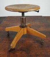 Vintage Hocker Architektenstuhl Werkstatthocker Industriedesign Stuhl Rollhocker