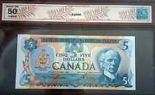 1979 Bank of Canada Lawson-Bouey $5 Note Certified BCS-AU50