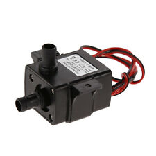 DC 12V 240L/H Brushless Ultra Quiet Motor Submersible Water Pump Solar Electric