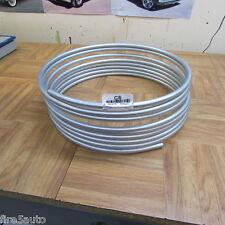 "SILVER ZINC BRAKE/FUEL  LINE STEEL TUBING COIL 5/16"" OD X 25 FT Roll"