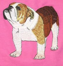 Embroidered Ladies Fleece Jacket - English Bulldog AD006  Sizes S - XXL