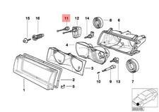Genuine BMW E36 Compact Bracket Headlight OEM 63128361104