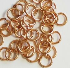 16 Ga Bronze Jump Ring ( 6 MM O/D ) Pkg. Of 190 p. / 1 Oz Saw-Cut  Solid Bronze